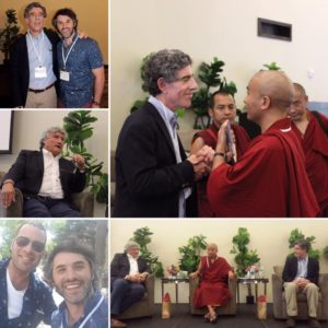 Dr Davidson and Rinpoche Workshop